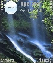 Water Fall Theme Mobile Theme