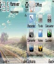 Forever Mobile Theme