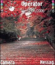 Red Road Mobile Theme