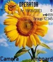 SunFlower Mobile Theme