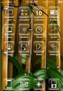 Bamboo Mobile Theme