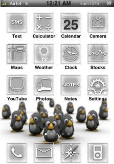 Pingu Theme Mobile Theme