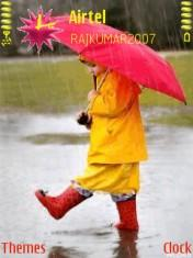 Sweet Rain Mobile Theme