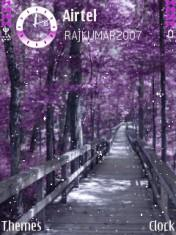Purple Dreams Mobile Theme