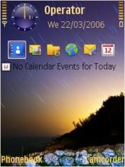 Starry Dome Mobile Theme