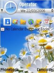 Flowers Mobile Theme