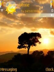 Dawn Tree Mobile Theme