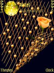 Yellow Stars Mobile Theme