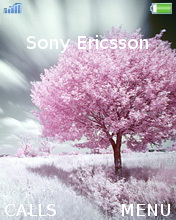 Pink Tree Mobile Theme