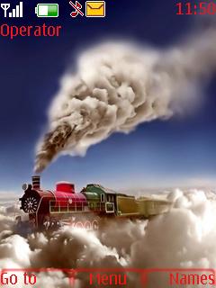 Beautiful Train Mobile Theme