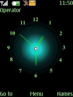 Green Animated Theme Mobile Theme
