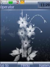 Angel Flower Theme Mobile Theme