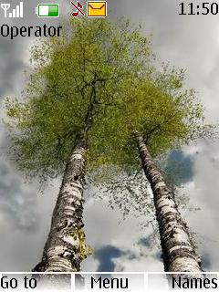Beautiful Trees Nokia S40 Theme Mobile Theme