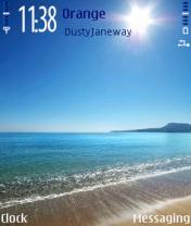 Beach Blaze Nokia Theme Mobile Theme
