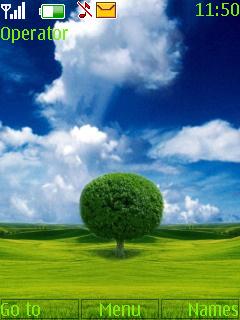Beautiful Tree Nokia Theme Mobile Theme