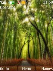 Bamboo Nokia Theme Mobile Theme