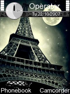 Eiffel Tower Nokia Theme Mobile Theme