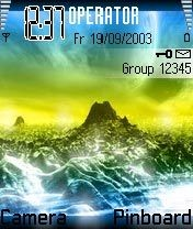 Mountains Nokia Theme Mobile Theme