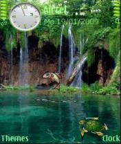 Nature Animated Nokia Theme Mobile Theme