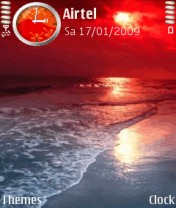 Nature Red Animated Nokia Theme Mobile Theme