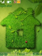 Grass House Nokia Theme Mobile Theme