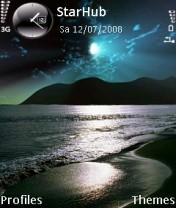 Night Sea Nokia Theme Mobile Theme