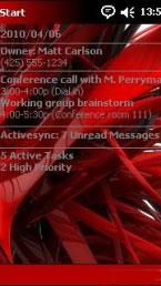 Red Htc Theme Mobile Theme