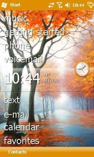 Autumn Tree Htc Theme Mobile Theme