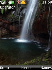 Waterfall Nokia Theme Mobile Theme