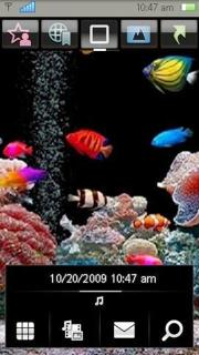Aquarium Nokia Theme Mobile Theme