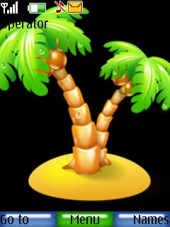 Island Theme Mobile Theme
