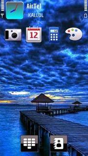 Blue Sea Theme Mobile Theme