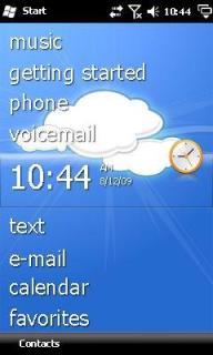 Cloud Htc Theme Mobile Theme