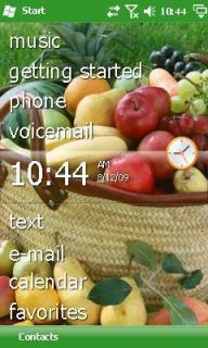 Fruit Htc Theme Mobile Theme