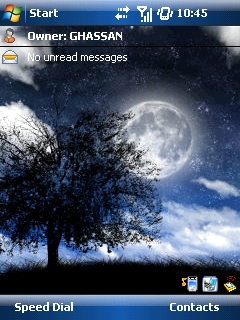 Moon Htc Theme Mobile Theme