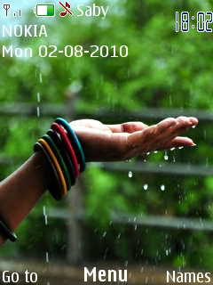 Rain Nokia Theme Mobile Theme