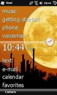 Half Moon Htc Theme Mobile Theme