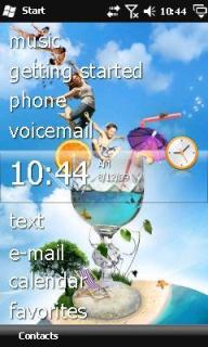Its Summertime Htc Theme Mobile Theme