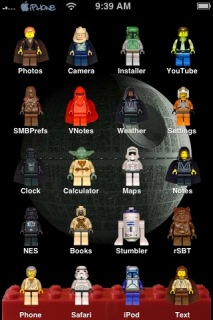 Lego Star Wars Theme Mobile Theme