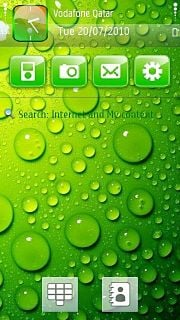 Green Drops Nokia Theme Mobile Theme