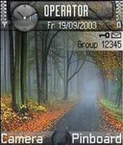 Forest Road Theme Mobile Theme