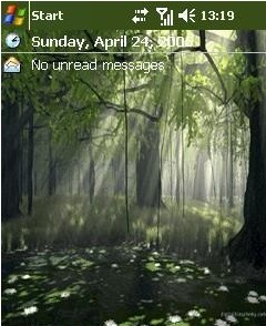 Forest Theme Mobile Theme