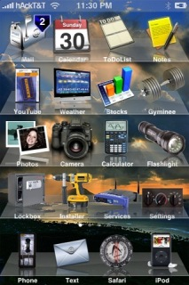 Real Pics IPhone Theme Mobile Theme