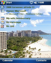 Hawai Theme Mobile Theme