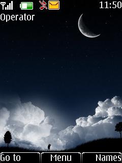 Dark Night Theme Mobile Theme