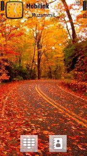 Fall Road Theme Mobile Theme