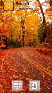 Fall Road Theme  Mobile Theme