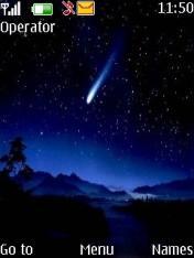 Night Sky Theme Mobile Theme