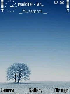 Alone Tree Theme Mobile Theme