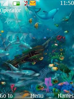 Animated Nature Nokia Theme Mobile Theme
